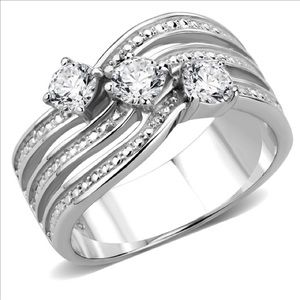 🎁Beautiful Stainless Steel Ring🌺